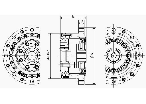 谐波减速机 CSG系列 组合型