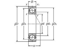 特殊型斜角轴承