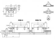 黑河MSB-TS/MSB-S直线导轨